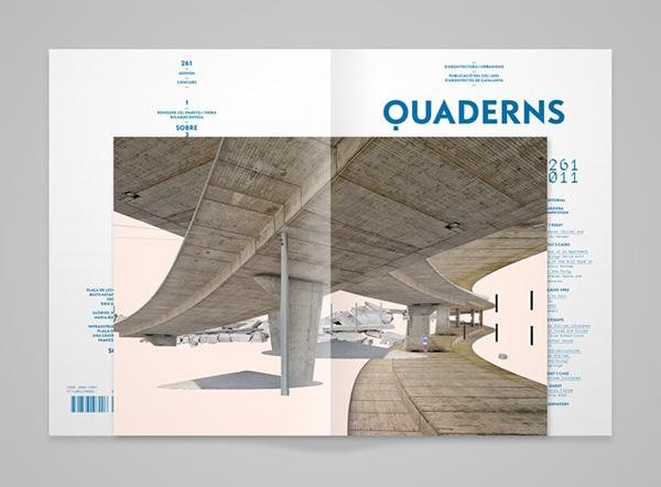 quaderns 261 on behance. Black Bedroom Furniture Sets. Home Design Ideas