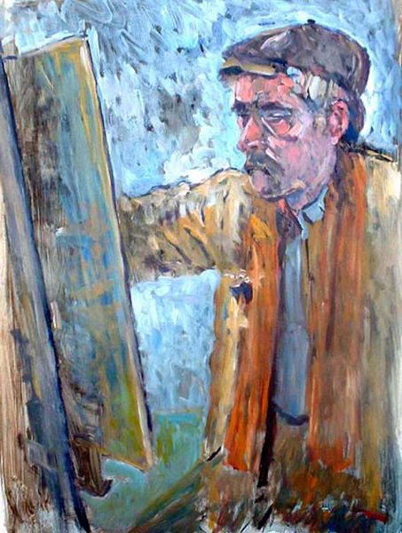 mike featherstone artist painter creative teesside UK art fine art Colourful  portrait michael featherstone
