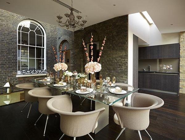 Georgian cachet with a contemporary twist on behance for Georgian dining room ideas