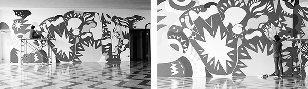 Gigante Blanco CCE/G - Mural Design on Wacom Gallery
