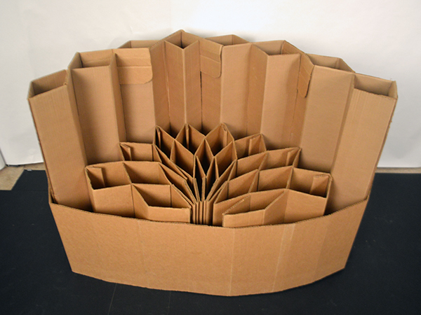Modular Cardboard Chair On Risd Portfolios