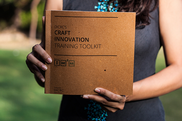 Publication Design Craft Innovation Toolkit On Student Show