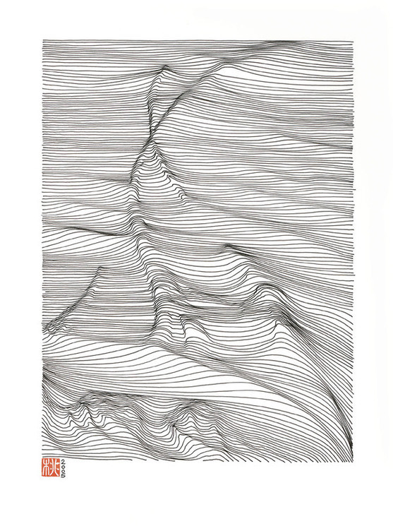 Drawing Lines Sound Effect : Linescaping ink drawing on behance