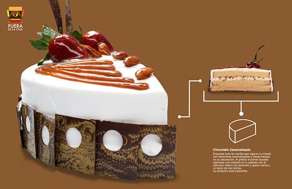 """AIS cake's new line """"fuera de la caja"""" on Behance"""