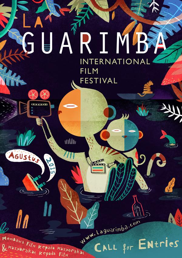 la guarimba poster on behance