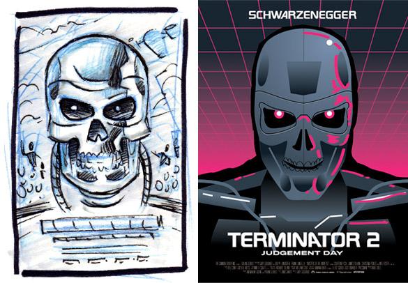 Terminator 2 Poster On Behance