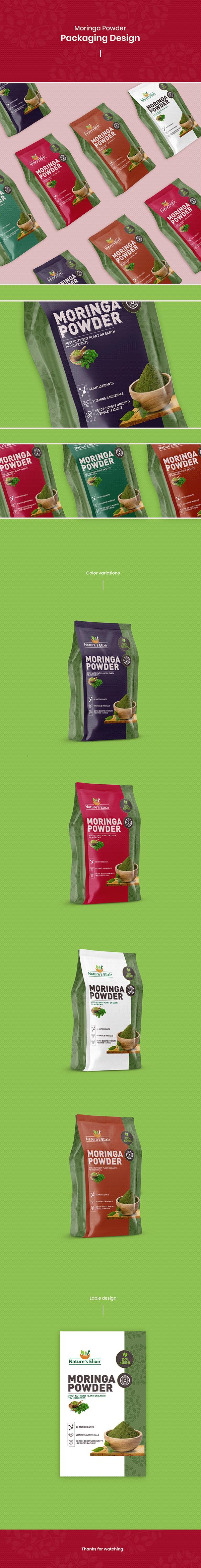Moringa - Packaging Design