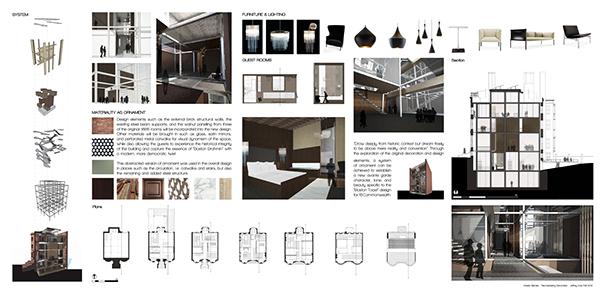 Graduate portfolio on behance - Interior design graduate programs ...