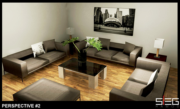 Http Www Behance Net Gallery 4377149 Sample Living Room