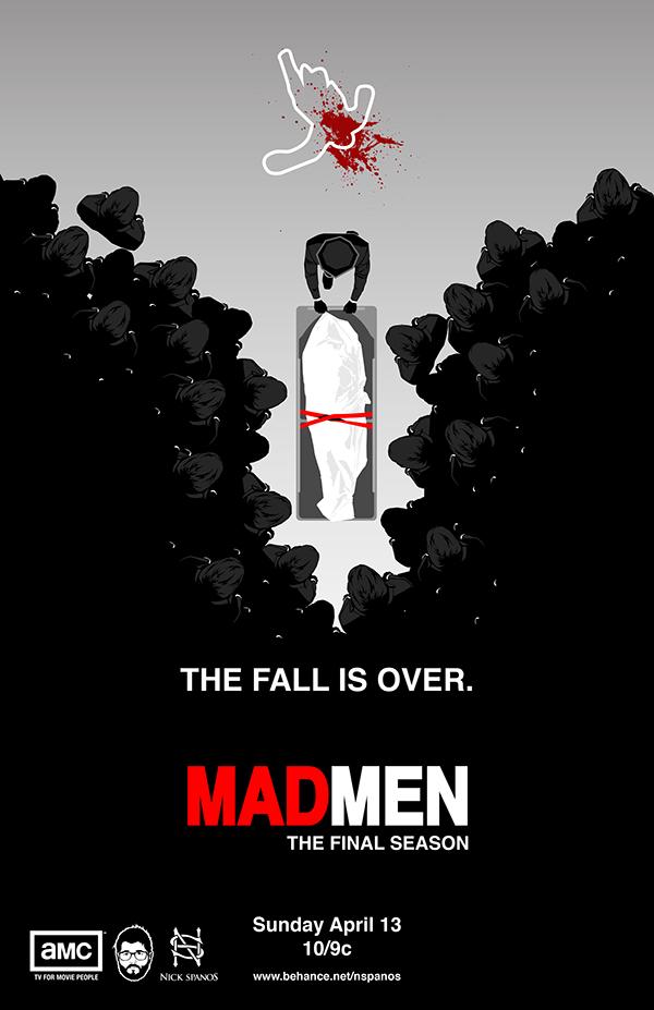 Mad Men The Final Season Poster on Behance