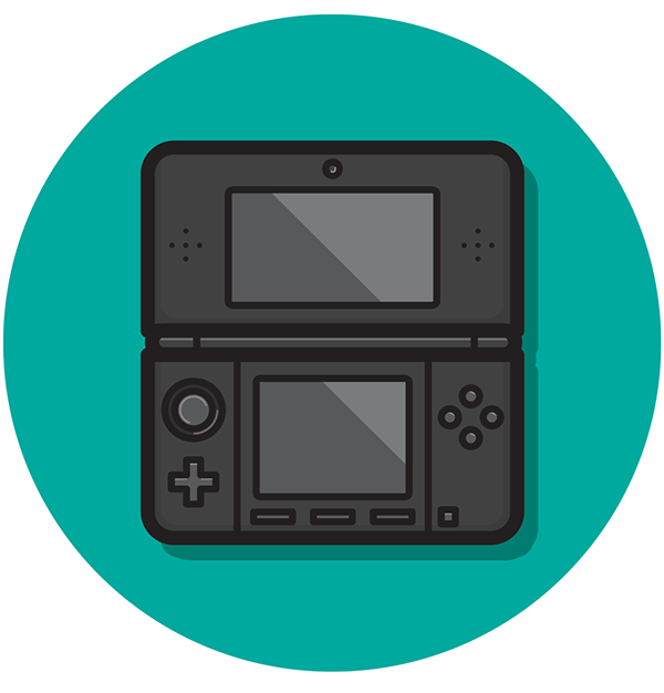 Nintendo Handheld Icon Set On Behance