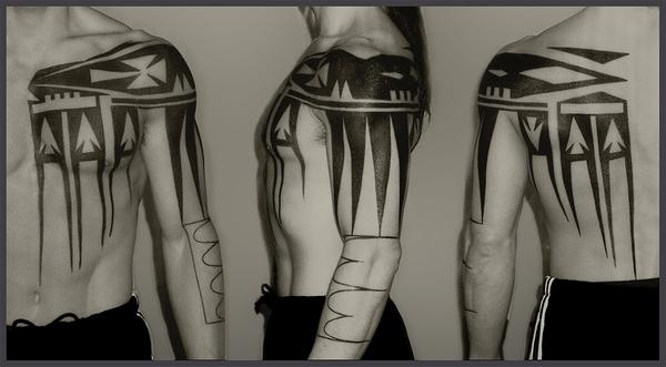 Skyrim Как сделать временную татуировку с калькой