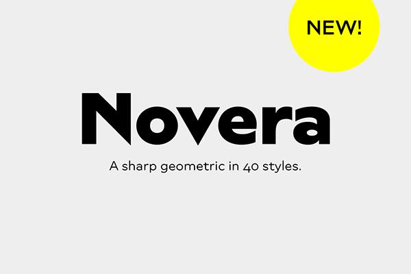 Novera / Font Family