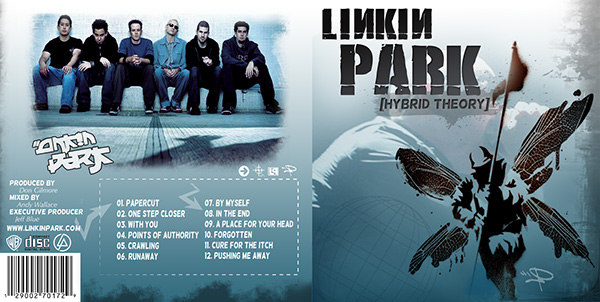 Spec Ad Linkin Park Hybrid Theory Cd Cover Redesign On Behance