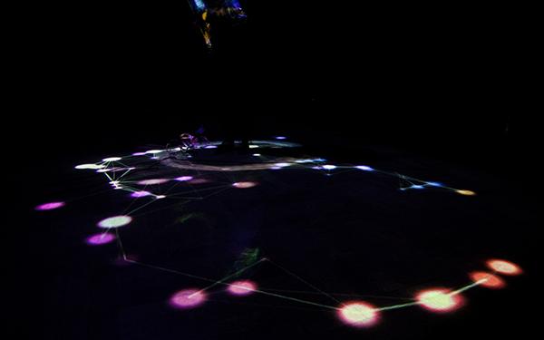 music visualization guitar visualization installation music installation mesh vvvv stage art music art