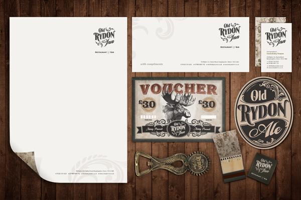 logo  stationery vouchers Pump Clip signs Business Cards letterhead Matchbook