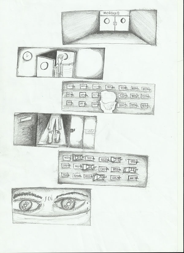 Page 1 Of Comic Strip Inspired By Ernest Hemingways Famous Challenge 6 Word Stories