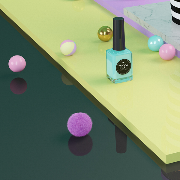 Toy Nail Polish On Behance