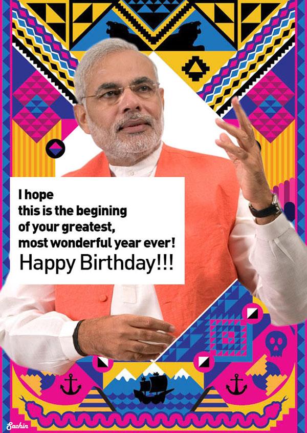 Happy Birthday Modi Happy Birthday to Our