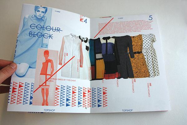 Topshop  retail  Packaging fashion.  bespoke type