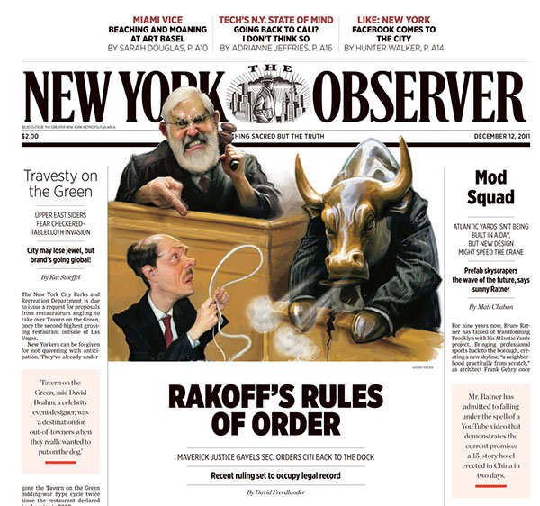 New York Observer on Behance