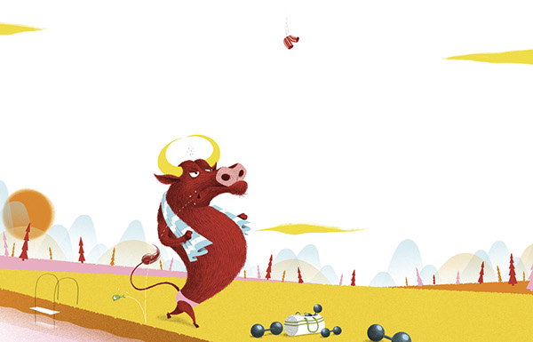 La grenouille et le boeuf ditions lito on behance - Image la grenouille et le boeuf ...