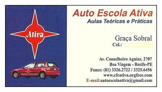 Cartão de visita antigo