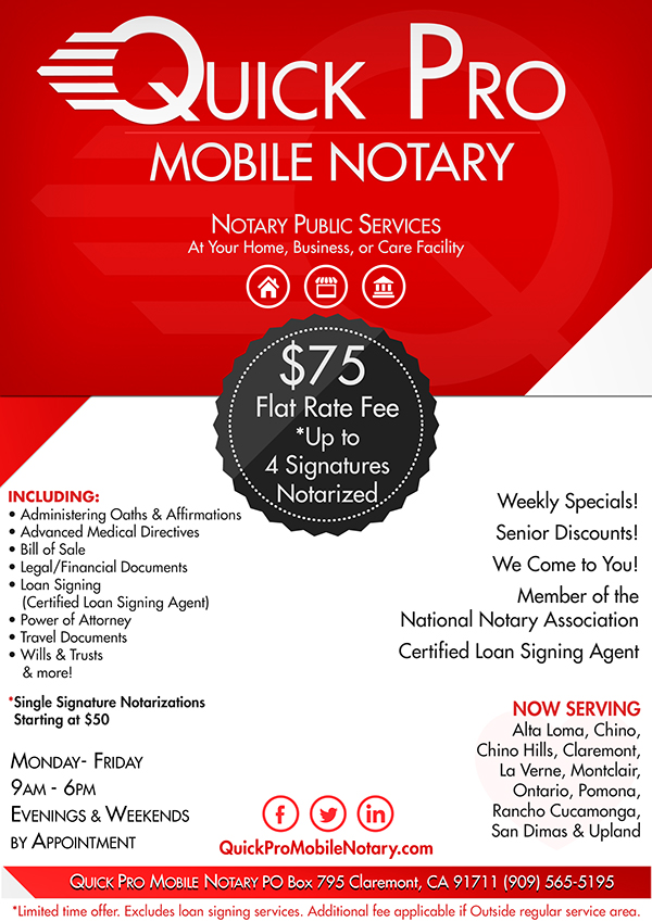 quick pro mobile notary social designs on behance