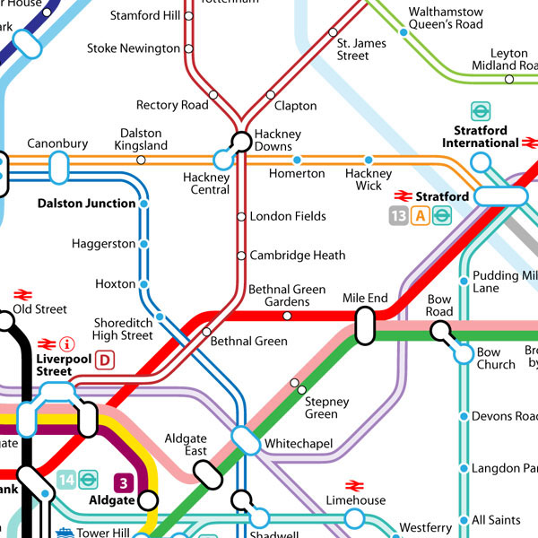 alternative 2015 tube map design on behance