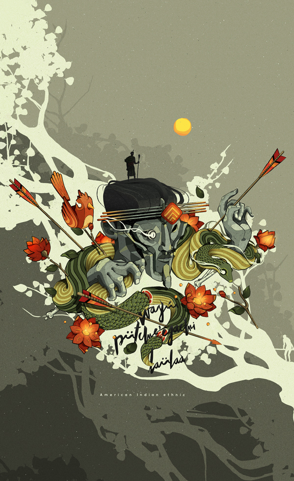 Digital art selected for the Daily Inspiration #1912 width=