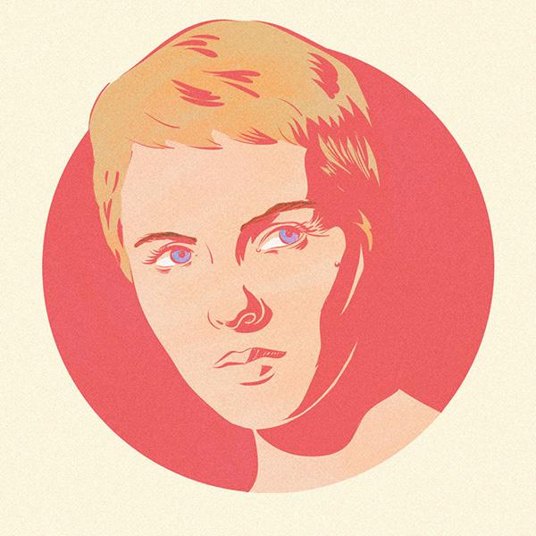 Jean Seberg Drawing Portrait Art