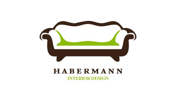 Habermann interior design on behance for Interior design logo samples
