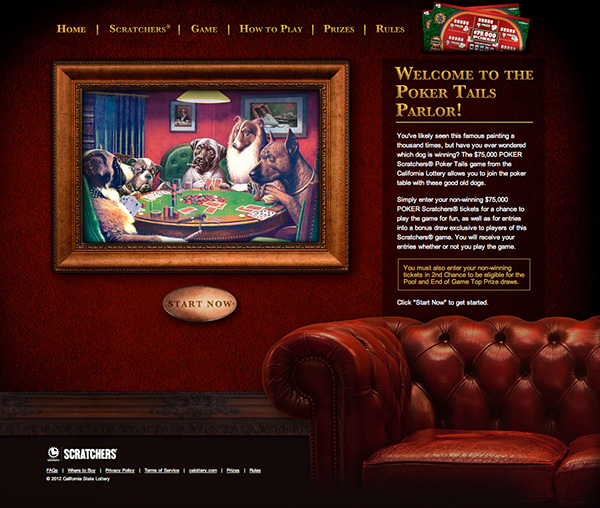 Poker Tails (Online Game) on Behance