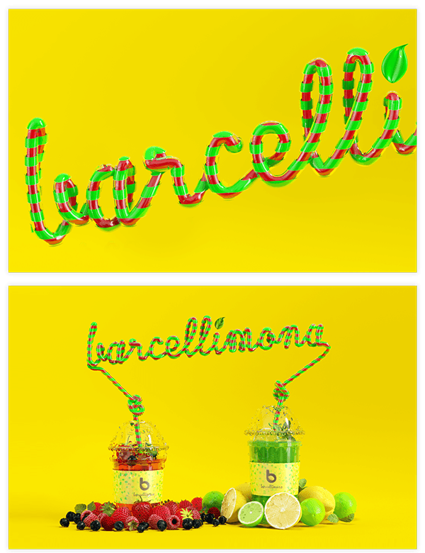app Webdesign bar Fruit lemon barcelona