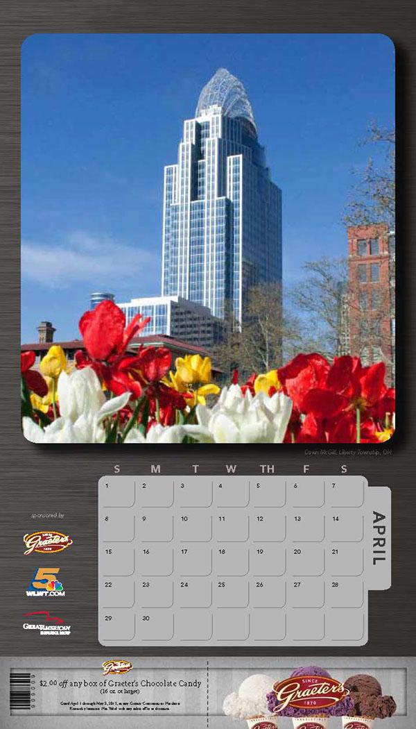 Calendar Photography Contest : Cincinnati skyline photo contest calendar on behance