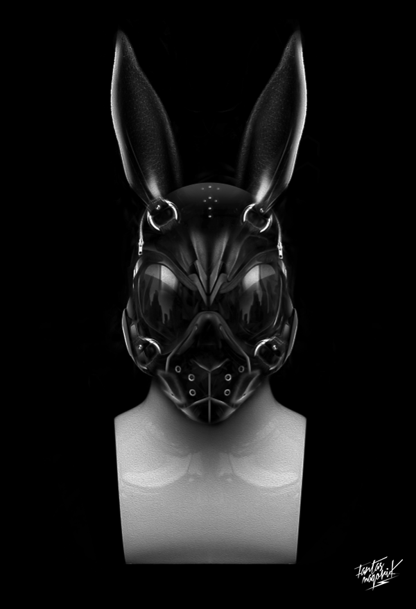 Black Bunny Rabbit Gas Mask Latex Apocalypse Cosplay Halloween Costume Accessory See more like this. Edgy Bunny Mask with Elastic Strap Rabbit Masquerade Costume Tall Ears Black Rabbit Mask with Glitter Bunny Ears Masquerade Disguise Party. Brand New. $ Buy It Now +$ shipping. 18 Watching.
