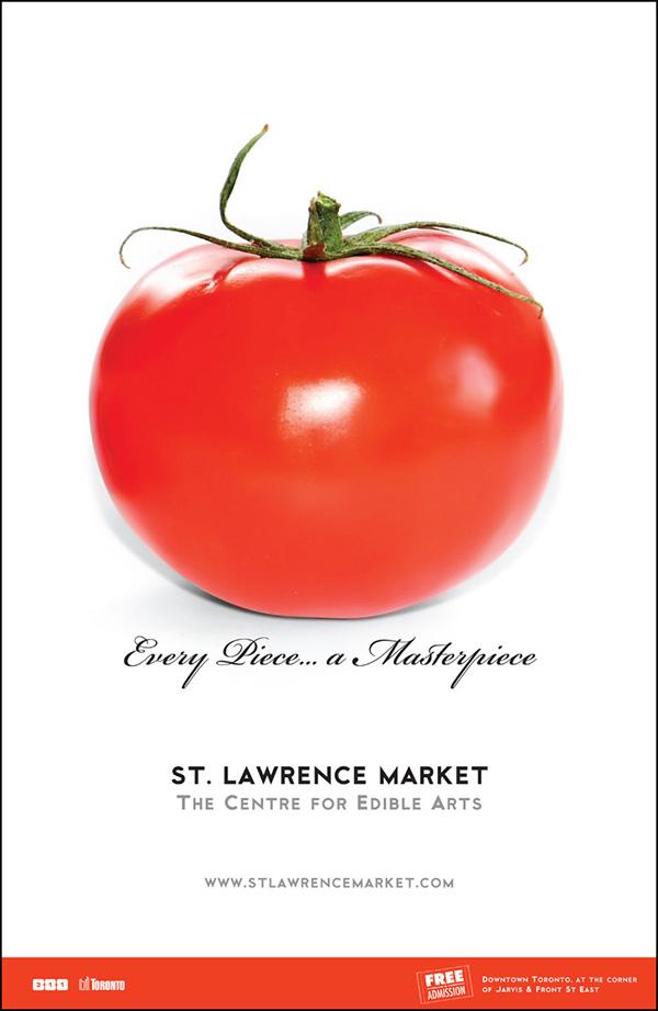 St. Lawrence Market Magazine Ad
