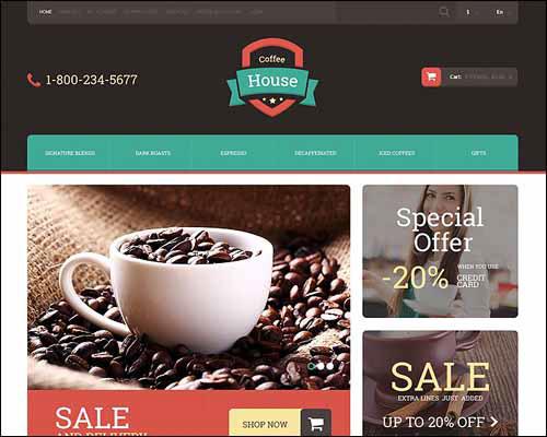 15+ Premium Best Responsive Zencart Templates on Behance
