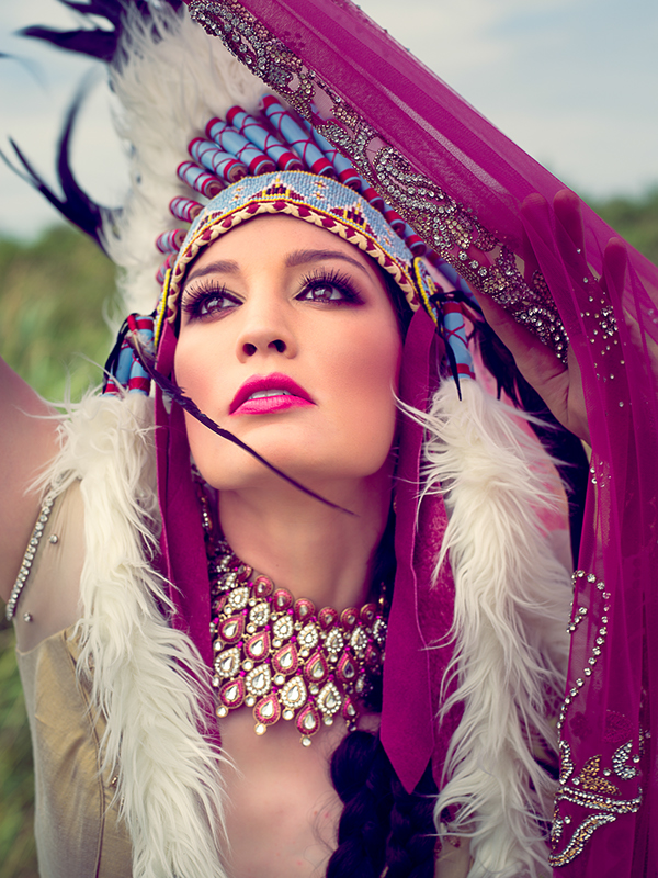 fashion photography  Indian Bride