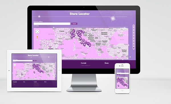 parallax showcase wordpress Jewellery Theme bootstrap Responsive store locator violet