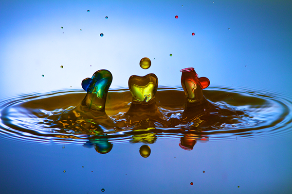 drops drop collision water photography macro water splash