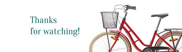 Retro City Bike - promo page