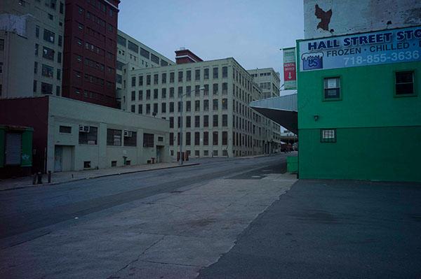 Street movie noir  mood New York dark