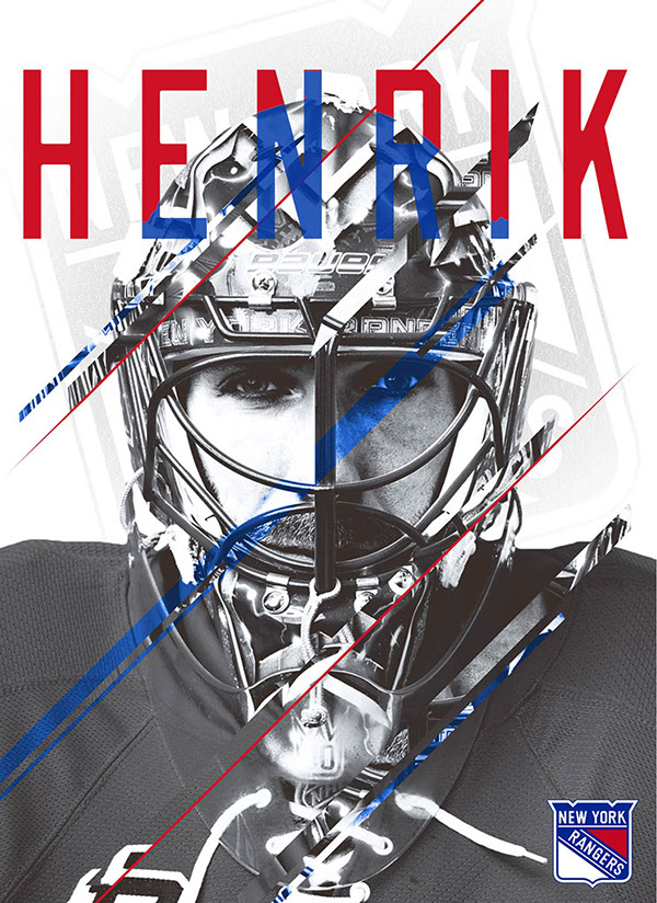 Character Design Classes In Nyc : Henrik lundqvist poster design on behance