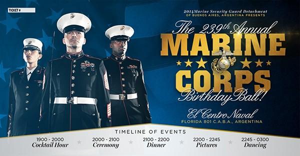 USMC Marine Corps Brazil argentina