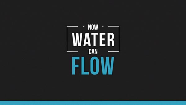 Be Water Kinetic Typography On Behance