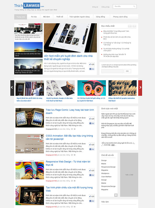 online magazine Inpiration