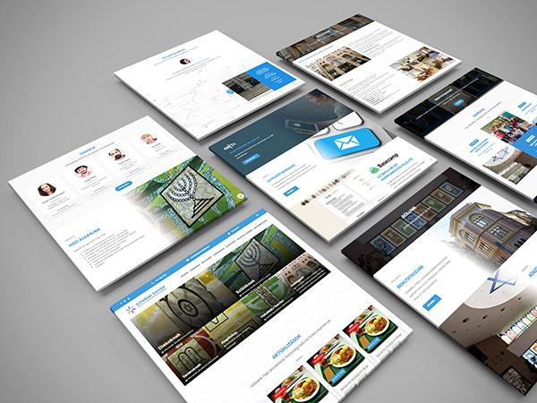 Responsive Web Design and web development for Scheiber High School
