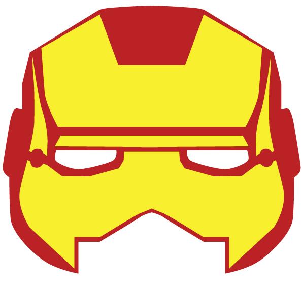 Mascara De Iron Man Para Fiesta De Super Heroes  Ideas Para