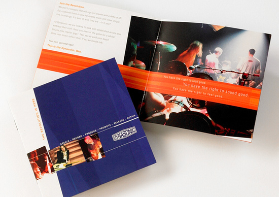 print collateral Specialty printing promotional piece